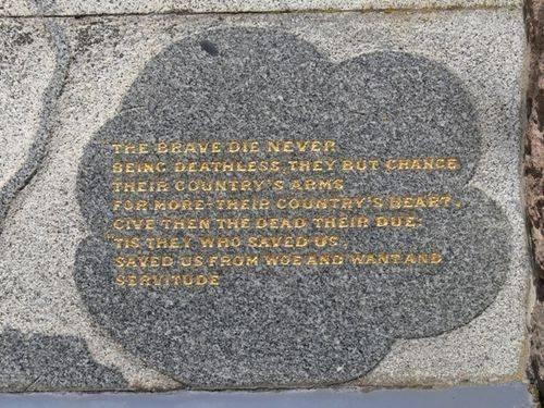 Warrnambool Soldiers` Memorial : 02-November-2011