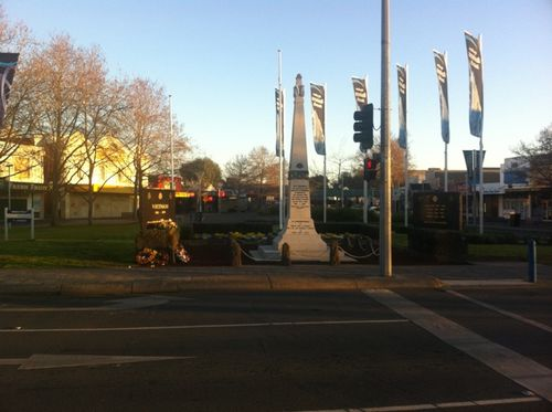 Werribee War Memorial : 24-August-2011