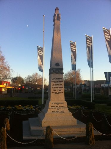Werribee War Memorial : 24-August-2011