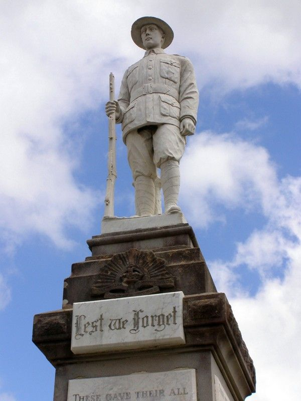 Soldiers Memorial : 04-October-2014