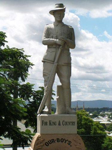 Western Suburbs War Memorial Digger Statue