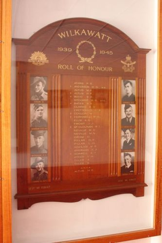 Wilkawatt World War Two Honour Roll : 16-September-2012