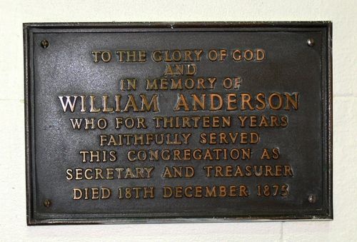 William Anderson : 14-May-2013