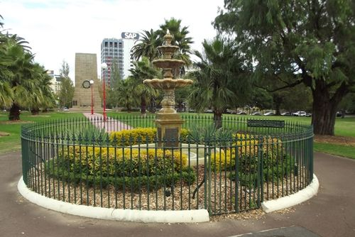 William Tunks Fountain : Feb 2014