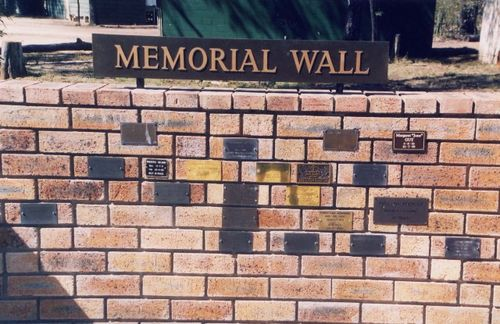 Willows Memorial Wall