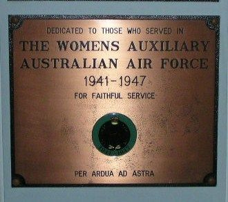 Womens Auxilliary Aust Air Force