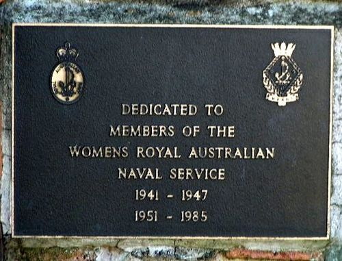 Womens Naval Service Plaque