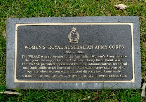 Women`s Royal Australian Army Corps : 25-September-2011