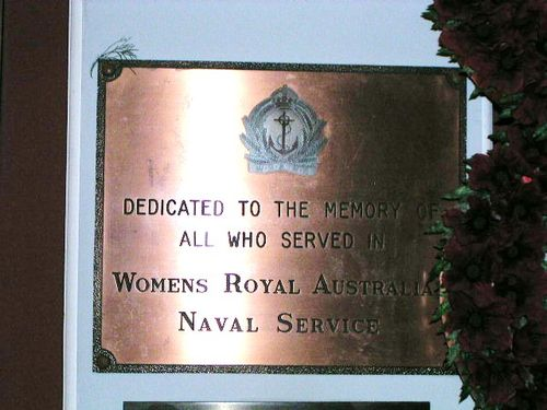 Womens Royal Australian Navy Service