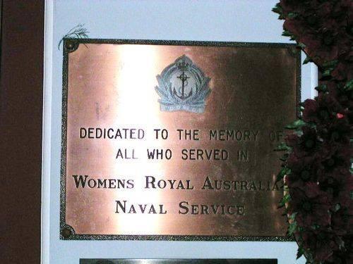 Womens Royal Australian Navy Service