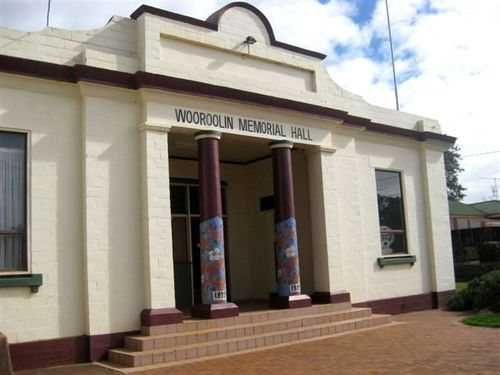 Wooroolin Memorial Hall : 22-07-2009