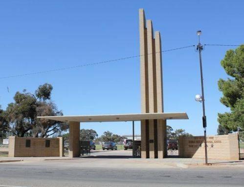 World War Two Memorial Gates : 25-April-2012