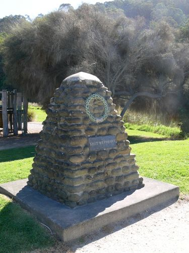 Wye River War Memorial : 23-April-2012