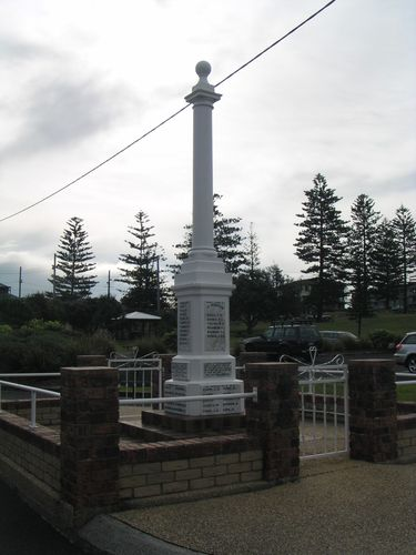 Yamba Cenotaph