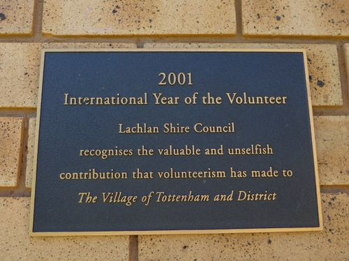 Year of the Volunteer : 24-April-2011