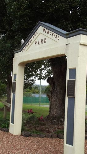 Yungaburra Memorial Park Gate : 06-07-2013