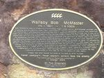 Wallaby Bob Plaque / March 2013