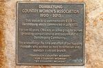 CWA Inscription Plaque :