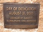 Dedication Plaque : 26-04-2014