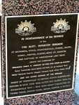 11th Infantry Plaque