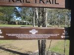 Brisbane Rail Trail Plaque : 05-08-2013