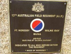 13th Australian Field Regiment