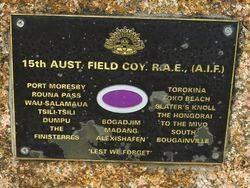 15th Field Company Engineers RAE