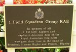 1 Field Squadron Sappers
