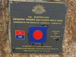 1st Australian Infantry Troops Ordnance Field Park