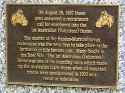 Light Horse Plaque : 30-June-2015