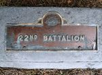 22nd Battalion