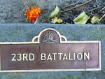 23rd Battalion : 21-September-2011