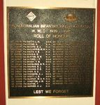 26th Australian Infantry Battalion Roll of Honour