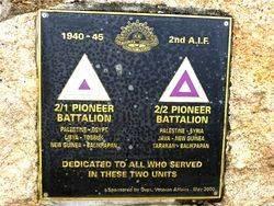 2nd/1st & 2nd/2nd Australian Pioneer Battalions