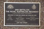 2nd Battalion Royal Australian Regiment