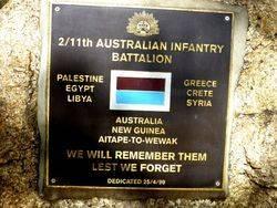 2nd / 11th Australian Infantry Battalion