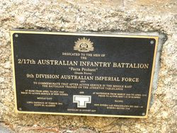 2nd / 17th Australian Infantry Battalion