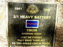 2nd / 1st Heavy Artillery Battery