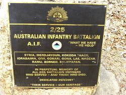 2nd / 25th Australian Infantry Battalion