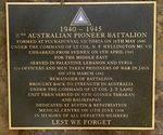 2nd / 2nd Pioneer & 2nd / 3rd Machine Gun Battalions : 10-March-2012