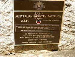 2nd / 31st Australian Infantry Battalion