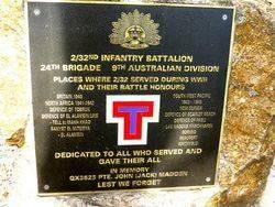 2nd / 32nd Australian Infantry Battalion