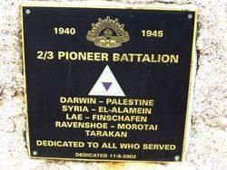 2nd / 3rd Australian Pioneer Battalion