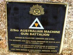 2nd / 3rd Machine Gun Battalion