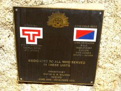 2nd / 43rd Battalion 9th Division & 2nd / 2nd Field Regiment 6th Division