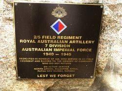 2nd / 5th Australian Field Regiment