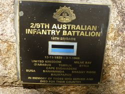 2nd / 9th Australian Infantry Battalion