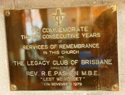 30 Years of Services of Remembrance