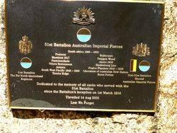 51st Battalion Australian Imperial Forces