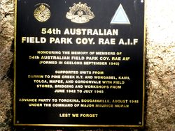 54th Australian Field Park Company